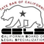 Certified by the State Bar of California, Board of Legal Specialization — Family Law
